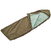 Czech Police Sleeping Bag With Teal Liner