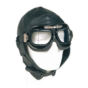 German Repro Leather Aviation Helmet