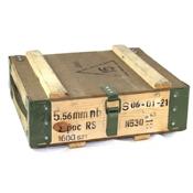 Surplus Polish Ammo Box Wooden