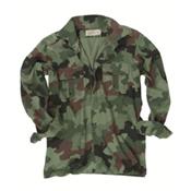 Serbian Camo Used Field Shirt