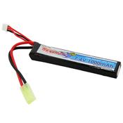 7.4V 1000mAh 20C Stick Buffer Tube LiPo Battery