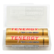 T35P 18650 Rechargeable Li-ion Battery - 2 Pack