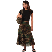 Womens Gauze Skirt