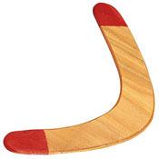 Classic Wooden Boomerang