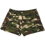 Womens Camo Hot Shorts