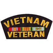 Vietnam Veteran 6 Inch Patch