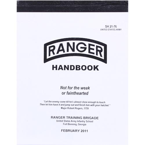 Ranger Handbook - 5.5 Inches X 8 Inches