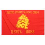 USMC Devil Dogs Flag