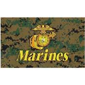 Digital Camo Marines Flag