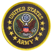 US Army Round Patch
