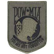 POW-MIA Subdued Patch