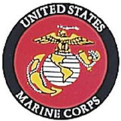 Marine Corps Face Gum Decal