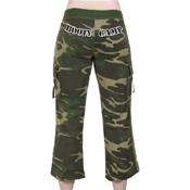 Womens Booty Camp Capri Sweatpants