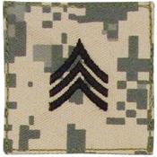U.S. Made Embroidered Rank Insignia - Sergeant