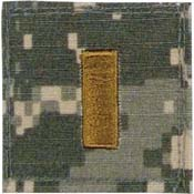 Official U.S. Made Embroidered Rank Insignia