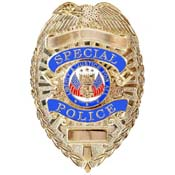 Deluxe Special Police Badge