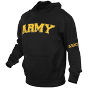 Mens Army Military Embroidered Pullover Hoodies