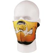 Neoprene Bulldog Half Facemask