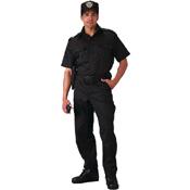 Mens Short Sleeve Tactical Shirt