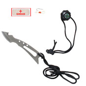 Jungle Survival Fixed Blade Knife Kit