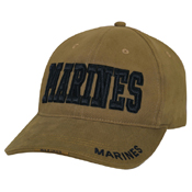 Ultra Force Deluxe Marines Low Profile Insignia Cap