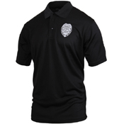 Moisture Wicking Security Polo Shirt with Badge