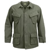 Vintage Vietnam Rip-Stop Fatigue Shirt