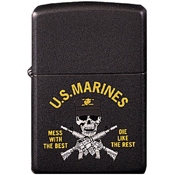 Zippo Marines Mess With The Best Lighter