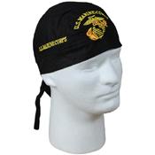 Marine Globe And Anchor Headwrap