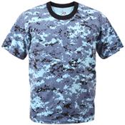 Kids Digital Camo T-Shirt