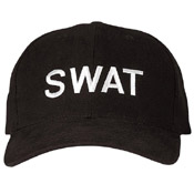 SWAT Law Enforcement Adjustable Insignia Caps
