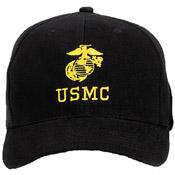 U.S.M.C. W G&A Insignia Cap