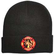 Deluxe Fire Deptartment Embroidered Watch Cap