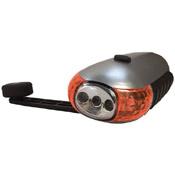 Wind Up Five Bulb LED Flashlight