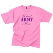 Womens Proud Army Mom T-Shirt