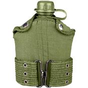 G.I. Type Plastic Canteen And Pistol Belt Kit