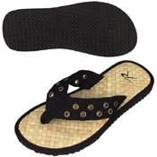 Black Pistol Belt Sandals