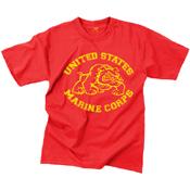 Mens Vintage U.S. Marine Bulldog T-Shirt