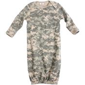Infant Long Sleeve Camo One-Piece Sleeper