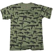 Mens Vintage Guns T-Shirt