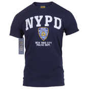 Mens Officially Licensed NYPD T-Shirt