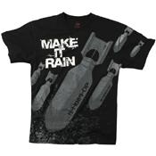 Mens Make It Rain Bombs T-Shirt