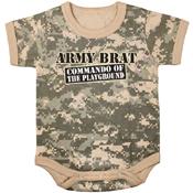Infant Army Brat One-Piece