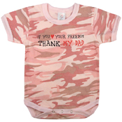 Infant Thank My Dad One-Piece