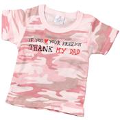 Infant Thank My Dad T-Shirt