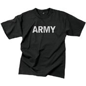 Mens Army Reflective Grey PT T-Shirt