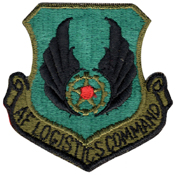 USAF Logistic Command Patch
