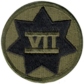 Patch - 7Th Corps