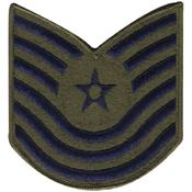 USAF Master Sergeant 1986-1992 Patch
