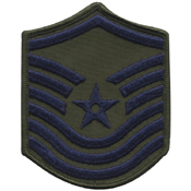 Patch Usaf Senior Master Sergeant 1986-1992 Subdued
